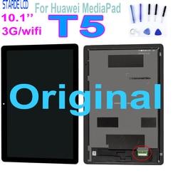 AAA + 10,1 para Huawei MediaPad T5 10 AGS2-L09 AGS2-W09 AGS2-L03 AGS2-W19 pantalla LCD con montaje de digitalizador con pantalla táctil