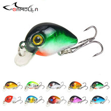 Fishing Bait 10 Color Weights 3cm /1.6g Isca Artificial Lures Crankbait Swim Fish Hard Tackle