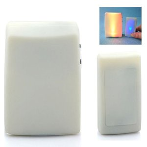 Image 2 - XINSILU Neue smart home produkt tür glocke, wireless remote flash Bunte musik türklingel für gehörlose (1 sender + 2 empfänger)