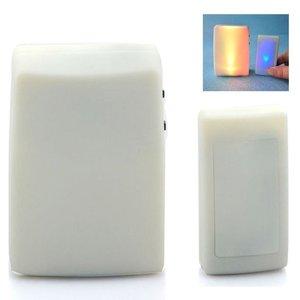Image 2 - XINSILU Nuovo prodotto di casa intelligente campanello della porta, a distanza senza fili musica flash Colorato campanello per non udenti (1 trasmettitore + 2 ricevitori)