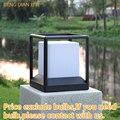 Наружное ландшафтное освещение  лужайка  лампа для сада  уличная E27  водонепроницаемая светодиодная опора  Алюминиевая опора  освещение для ...