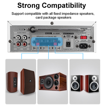Усилитель мощности SUNBUCK AV-660BT, 2.0, Bluetooth 5