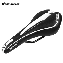New 2014 MTB Mountain Bike Bicycle Cycling Silicone Skidproof Saddle Seat Silica Gel Cushion Seat VD-104 Black Bicycle Saddle цена