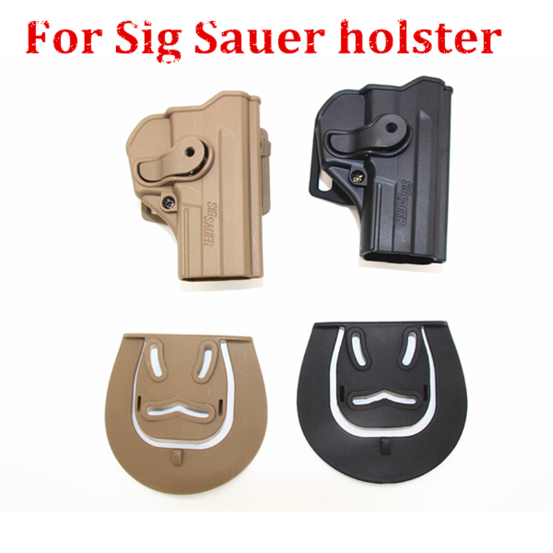 Tactical Airsoft P1290 Polymer Retention Roto Waist Holster for Sig Sauer Pro SP2022/SP2009 gun holster hunting accessories