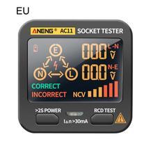 Multifunction Socket Tester Outlet Rcd Gfci Test & Bside Voltage Detector Home Essentials
