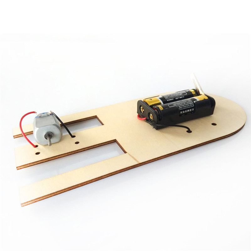 Electric boat science education toy DIY Electronic Assembly Boat Model Toy Scientific Experiment Toy For Kids Gifts #4J09 (3)