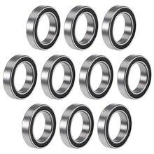 10 шт 6701 2rs 12x18x4 мм миниатюрные двойные резиновые герметичные