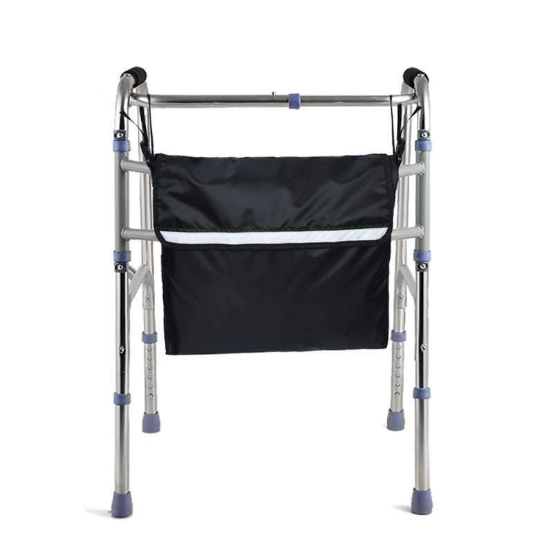 Cadeira de rodas Mochila Saco de Viagem De Armazenamento saco de Compras Saco de Mobilidade Scooters Walker Quadro Bolsas De Armazenamento de Andarilhos Com Faixa Reflexiva