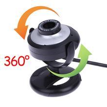 цена на 16 Megapixel USB Webcam Camera With Mic Night Vision Web Cam For PC Laptop Web Camera PC Webcam Video Calling Computer Camera