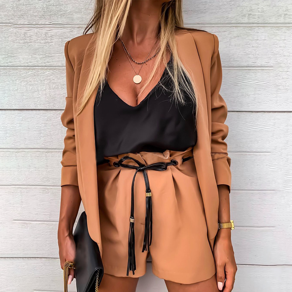 Spring Autumn 2019 Women Blazer Office Lady Formal Blazer Fashion Elegant Female Work Coat OL Business Suit Blazers Feminino D30