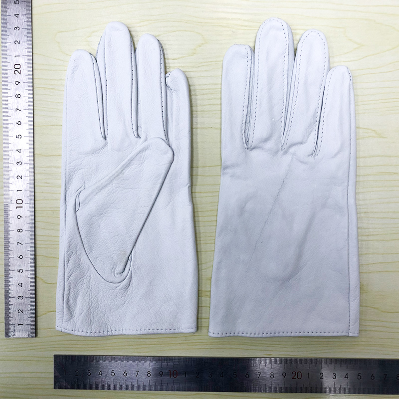 QIANGLEAF Defective Superfine Fiber Leather Work Gloves Clearance Gloves 1