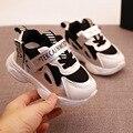 Модные спортивные детские кроссовки для девочек, Повседневная легкая обувь для малышей, Детская теннисная дышащая мягкая нескользящая обу...