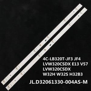 Image 1 - LED arka ışık şeridi 6 lamba için JL.D32061330 004AS M 057GS 4C LB320T JF3 JF4 LVW320CSDX E13 V57 LVW320CSDX W32H W32S H32B3