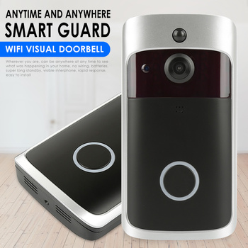 WiFi Video Doorbell V5 Smart IP Video Intercom WI-FI Video Door Phone For Apartments IR Alarm Wireless Security Camera 1