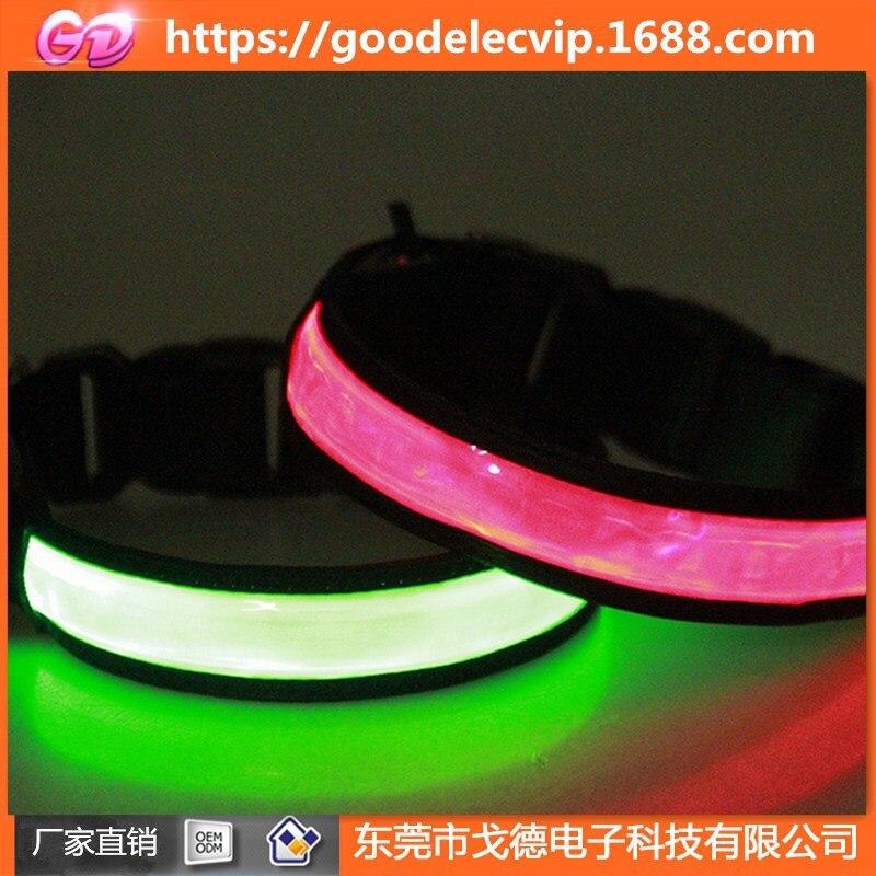 Send USB Cable LED Shining Pet Charging Dog Neck Ring USB Neck Ring Shining Dog Neck Ring