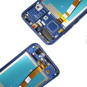 Image 4 - 100% Originele Lcd Met Frame + Vingerafdruk Voor Huawei Honor 10 Display Touch Screen Digitizer Vergadering COL L29 Reparatie Onderdelen