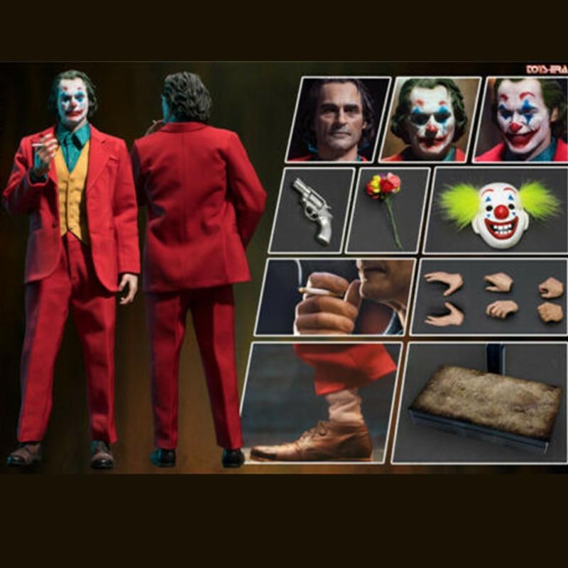 BulletHead1//12Comedian Joker Joaquin Phoenix Arthur Fleck 6inches Figure Toy