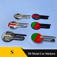 цена на 1Pcs 3D Metal Car Rear Trunk Fender Badge Emblem Sticker for Jaguar XF XFL XJ XJL XK S-TYPE X-TYPE sport logo Car Accessories