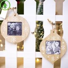 2019 инновационные рождественские украшения деревянные подвесные