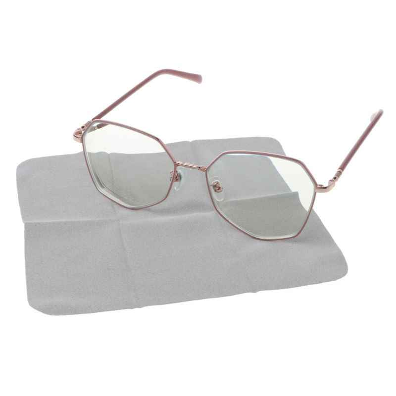Pa/ños Antivahos Pa/ño de Gafas Nano Anti Niebla Limpieza de Gafas Antivaho Secos Reutilizables para Gafas de Protecci/ón C/ámara Lente Casco Antivaho Cuando Usar Cubierta Facial Gris, 6 Piezas