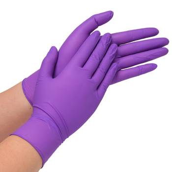 300PCS Disposable Nitrile Gloves Powder Free Gloves for Home Cleaning /Food/Rubber/Garden Gloves Medium