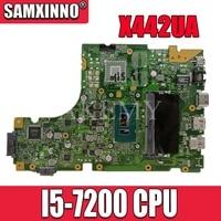 Akemy X442UA Motherboard For Asus X442 X442U X442UA X442UR X442UQ X442UQK X442UQR Laotop Mainboard with I5-7200 CPU