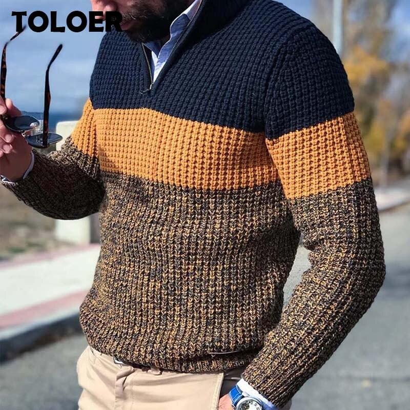 Мужской трикотажный свитер 2021 Весенняя детская пижама, теплая Пижама с v-образным вырезом пуловер джемпер с длинным рукавом повседневные св...