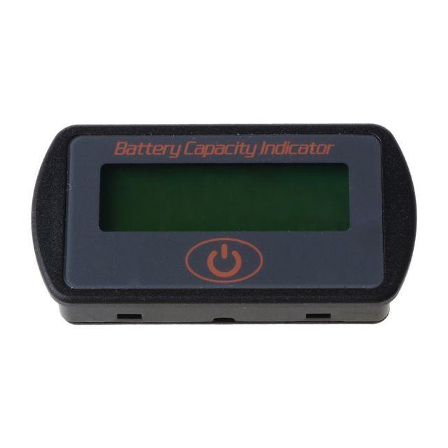 Купить 12 в 24 в жк дисплей ёмкость аккумулятора вольтметр тестер индикатор картинки цена