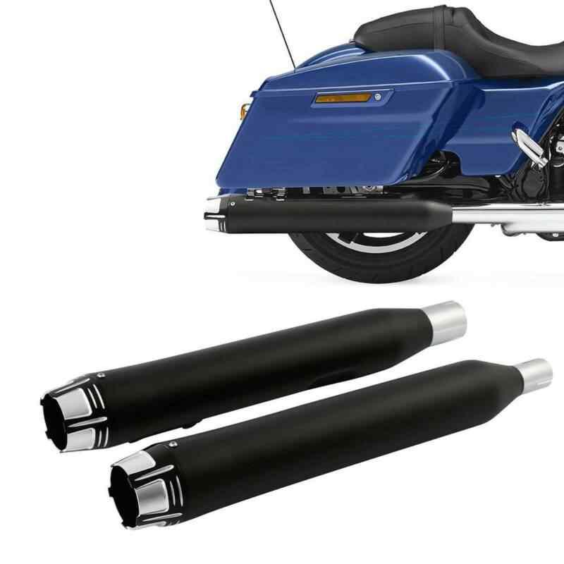 motorcycle cnc dual exhaust mufflers