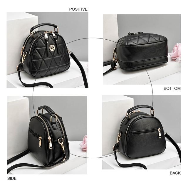 Women Messenger Bags Tassel Mini Bag  Shell Shape Bag Women Shoulder Bags Plaid Handbag Crossbody Bags for Lady Clutch Purse