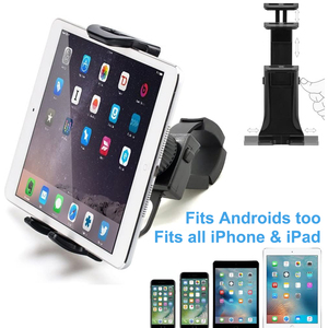 Image 2 - Bike Bicycle Phone Holder Handlebar Tablet Stand Mount for iPad iPhone Samsung Tablet Phone Holder Cradle for Gym Tread Mill