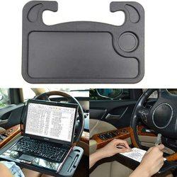 Car Steering Wheel Holder Tray Laptop Desk Eat Work Cart Drink Food Coffee Goods Table Writing Bracket Dinner Plate Accessories