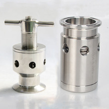 Tri Clamp Pressure Relief Safety Valve Sanitary SUS 304 Stainless Steel Beer Brew Fermenter Keg Moonshine