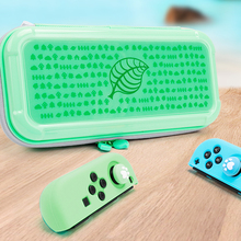 Hayvan orman NS saklama çantası Nintendo anahtarı için sert çanta NS Lite konsolu taşınabilir seyahat çantası kabuk taşınabilir depolama koleksiyonu