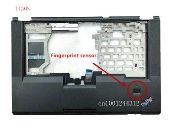 New Original laptop Lenovo ThinkPad T430S Palmrest cover The keyboard cover with Fingerprint sensor FRU 04X4612