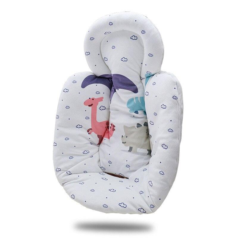 Newborn Pull Basket Cotton Cushion Electric Rocking Chair Cotton Cushion Safety Seat Cushion Baby Rocking Chair Warm Cotton And