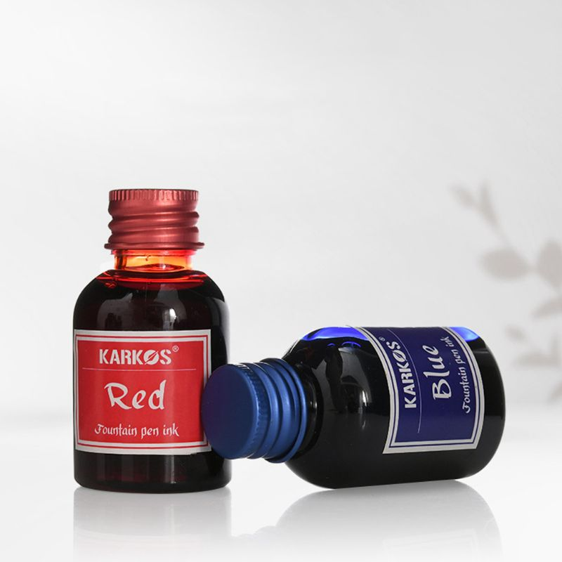 1 Bottle Pure Colorful 30ml Fountain Pen Ink Refilling Inks Stationery School