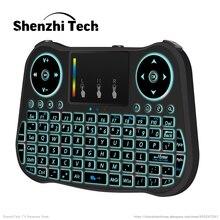 Беспроводная игровая клавиатура с одной рукой 24 ГГц wi fi rgb