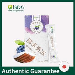 ISDG Enzyme instantanée gelée fruits et légumes Fermentation Composite perte de poids Anti-Constipation nettoyer le produit intestins
