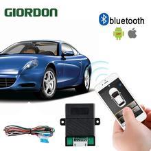 Универсальный PKE умный ключ смартфон дистанционный запуск автомобиля сигнализация кнопка безопасности с автоматическим подъемным окном Пассивный Автозапуск Cen