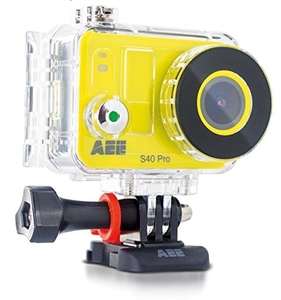 Aee s40-videocámara deportiva hd completo de 8 mp  cor amarillo
