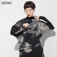 XITAO Print Pattern T Shirt Fashion New Women Irregular 2020 Pullover Full Sleeve Small Fresh Casual Style Tee Top ZY1300