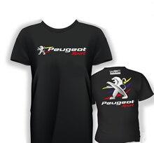 Fashion Peugeot Sport Old Rally Car Mens T-shirt Short Sleeves Summer Funny Shirt(1) все цены