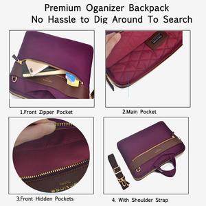 Image 4 - Laptop Bag 13.3 Inch For Macbook Pro 13 Bag Women Laptop Sleeve For Macbook Air 11/13 Notebook Bag with Removable Shoulder Strap