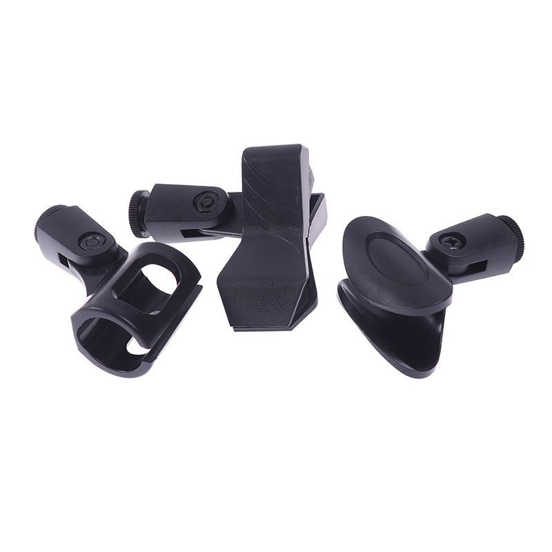 1Pc Multifunction Portable Microphone Fixed Holder Universal Stage K Song Microphone Holder Use Clip Stand