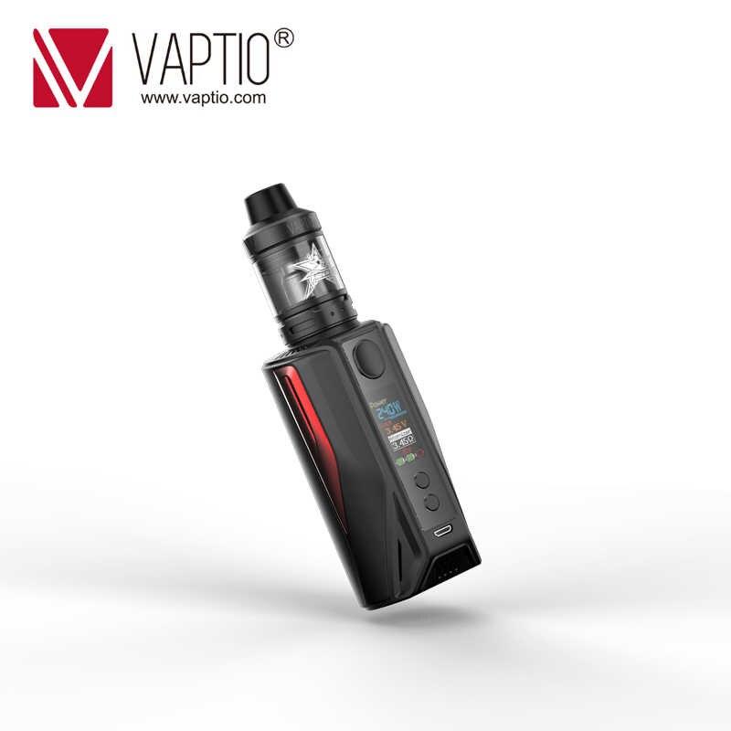 Gift 5pcs Coils Electronic Cigarette vape kit mod 200W Vaptio N1 Pro Lite KIT 5.0ml atomizer 510 fits 2*18650 Battery Vape mod