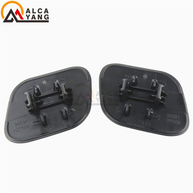 98671-2P500 98672-2P500 Front Headlight Washer Lift Cylinder Spray Nozzle Jet And Cover Cap For KIA Sorento 2013 2014