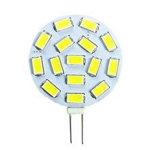 200 Uds bombilla de luz LED G4 15 uds/5730/5630SMD AC/DC 10-30v LED PCB blanco 6000K decoración bombilla iluminación hogar