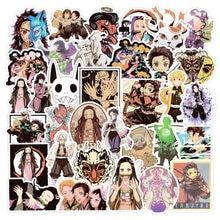 10/50Pcs Demon Slayer: kimetsu Geen Yaiba Anime Sticker Stickers Pvc Graffiti Sticker Koffer Gitaar Voor Kinderen Speelgoed Sticker