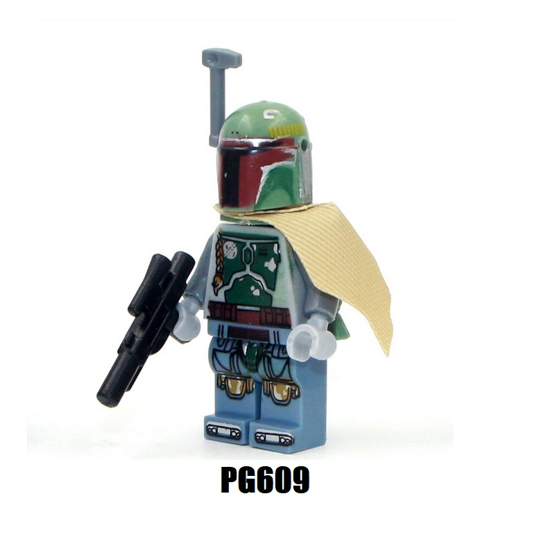 Single Sale Wars Boba Fett Trebor Jeddi Battle Of Geonosis Coleman Figures Building Blocks For Children Gift PG44